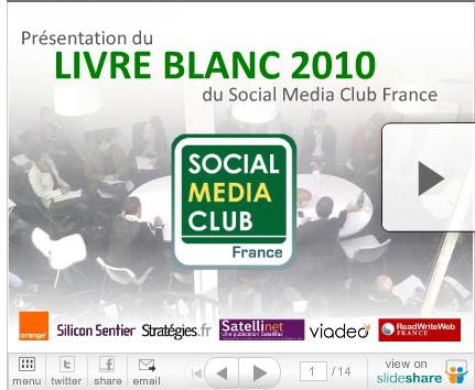 LIVRE BLANC 2010 - SMC FRANCE – Social Media Club France_1288284453412